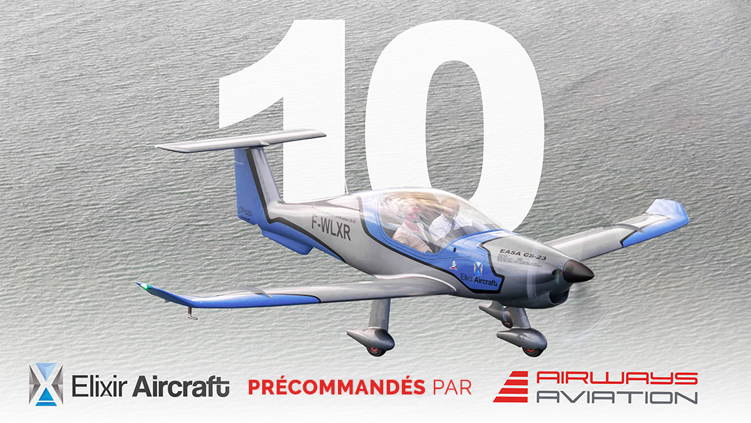 10 Elixir Aircraft training aircrafts have been preordered by Airways Aviation
